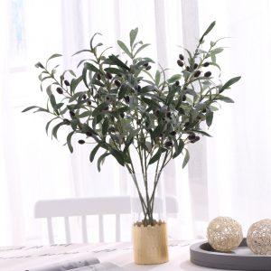 cành cây olive giả